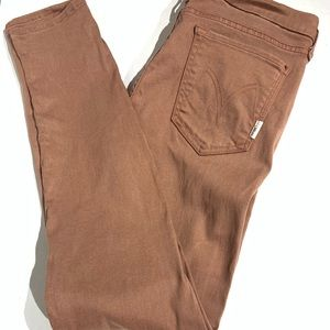 Mother the looker redwood jeans size 31